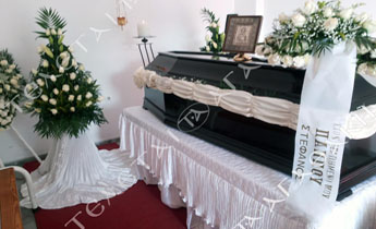 Coffins decoration
